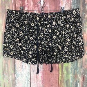 Loft floral soft shorts